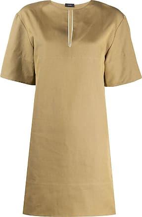 Joseph long-line tunic top - Green