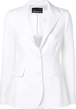 Ermanno fitted blazer - White