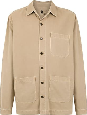 Osklen linen jacket - NEUTRALS
