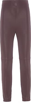 Canal Calça Legging Leather Stretch - Marrom