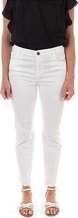 Twin-Set Twinset Jeans Skinny da Donna Bianco Ottico 201TT2471 - - UK 4