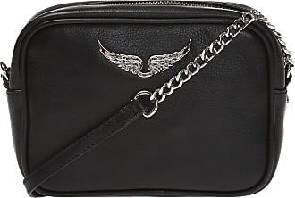 Zadig & Voltaire XS BOXY Shoulder Bag Womens Black