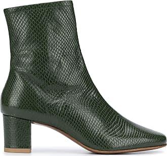 by FAR Ankle boot Sofia com efeito de pele de cobra - Verde