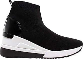018ef3dba Michael Kors Skyler Stiefeletten Stoff 43R9SKFE2D Schwarz Damen Schuhe  Sneaker