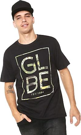 Globe Camiseta Globe Camuflada Preta