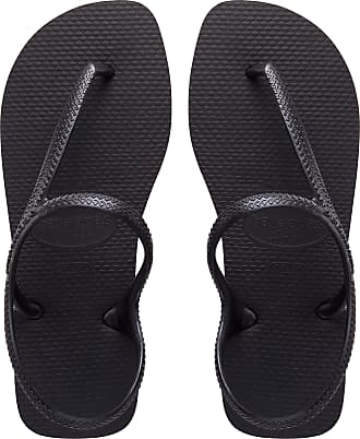 Havaianas Flash Urban Black Sandals New in (BR 35-36 UK 3 EU 37-38)