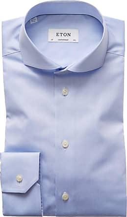 Eton Oberhemd mit Haifisch-Kragen, Contemporary Fit von Eton in Hellblau für Herren