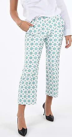 True Royal pantalone dritto SANDY Fantasia Geometrica taglia 46