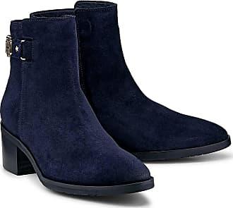 Tommy Hilfiger Trend-Stiefelette in blau, Stiefeletten für Damen Gr. 38 d9cb290660