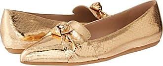 Franco Sarto Womens ADRIANNI Ballet Flat, Gold, 7.5 M US