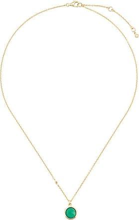 Astley Clarke Colar Stilla de prata banhado a ouro 18kt com ônix - Dourado