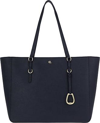 Lauren Ralph Lauren Shopping Bags - Tote Bag Medium Navy - blue - Shopping Bags for ladies