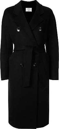 Onefifteen double breasted coat - Black