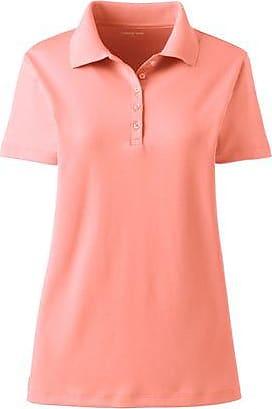 Lands End Supima-Poloshirt in großen Größen - Orange - 48-50 von Lands End