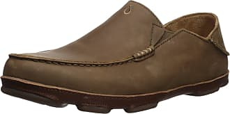 Olukai OluKai Mens Leather Olukai Moloa Ray Us, Ray Toffee, 11 D(M) Us