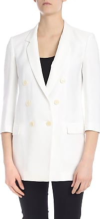 Pinko Interrogare 4 long jacket in white