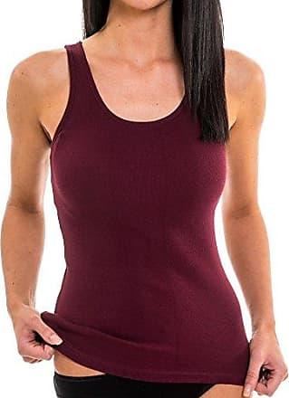 HERMKO 1310 Damen Unterhemd aus Reiner Baumwolle