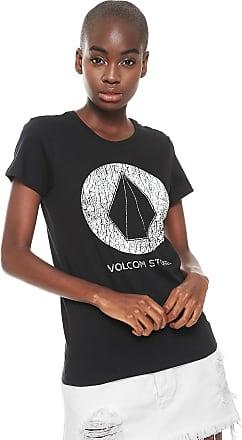 a17e7a43ba Volcom Camiseta Volcom True Life Today Preta
