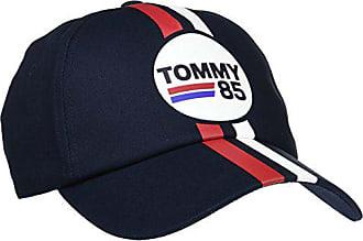 Tommy Hilfiger flag logo navy white red baseball cap hats NWT