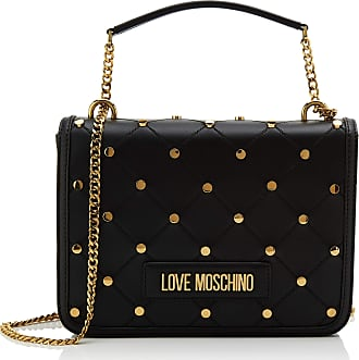 Love Moschino Jc4094pp1a Womens Cross-Body Bag, Black (Nero), 9x19x26 centimeters (W x H x L)