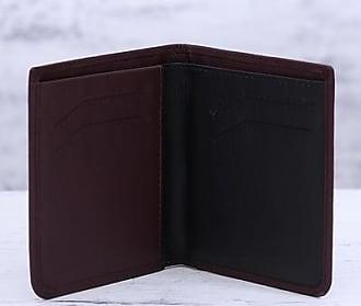 Novica Leather bifold wallet, Noble Cordovan