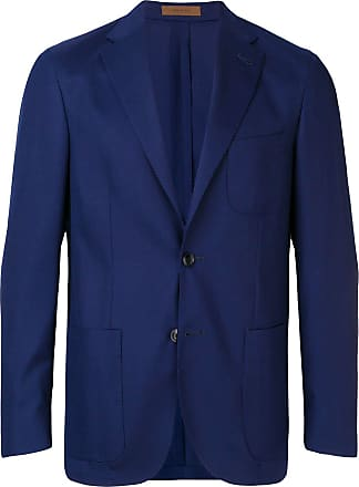 Corneliani single breasted blazer - Blue