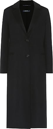 Max Mara Moda wool and angora coat