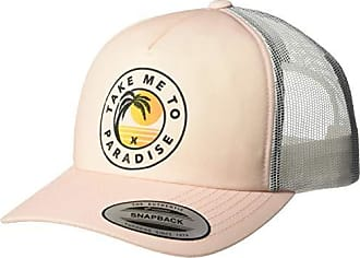 Hurley Womens Apparel Womens Take Me to Paradise Trucker Hat, Pink Tint, One Size Fits All