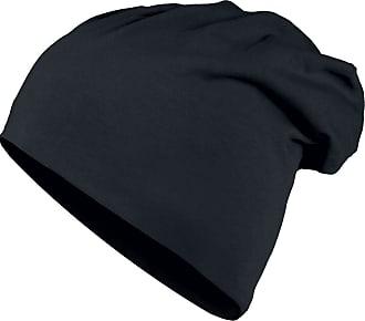 Urban Classics Jersey Beanie - Mütze - schwarz