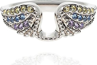 Zadig & Voltaire Crystal-embellished Ring Womens Silver