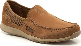 Clarks Ramada Spanish Nubuck Shoes in Tobacco Standard Fit Size 9 Brown