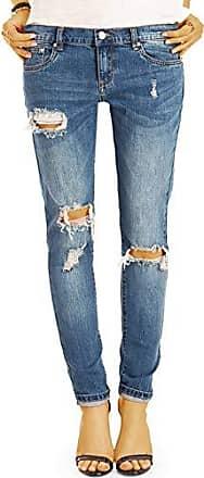 Bunte Slim Fit Damen Hosen Hüftige Sommer Jeans mi eng zulaufendem Bein j40i