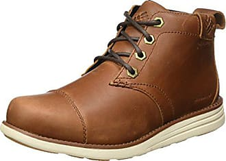 Columbia Mens Irvington Leather Chukka Waterproof Uniform Dress Shoe, Cinnamon, Maple, 7.5 D US