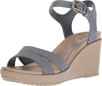 6fc8bbe15622 Crocs Womens Leigh Ii Ankle Strap W Wedge Sandal