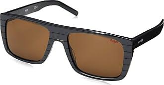 HUGO BOSS sunglasses (HG 1002 S W4J70) Grey Grey stripe Brown W4J70 Acetate plastic Grey - Grey stripe Brown
