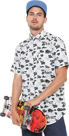 Element Camisa Element Reta River Shirt Branca
