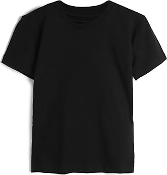 Reserva Mini Camiseta Reserva Mini Infantil Lisa Preta