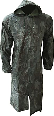 Universal Textiles Mens Waterproof Rain Jacket With Hood - Multicolour - XX-Large