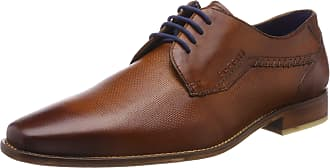 Bugatti Mens 311697021100 Derbys, Brown (Cognac 6300), 7.5 UK