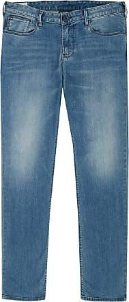 Emporio Armani Mens Stretch Blue Denim Slim Fit J06 Jeans 8N1J06 (W 36/ L 30)