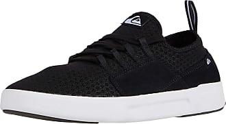 Quiksilver Mens Summer Stretch Knit Sneaker, Black/Black/White, 10 UK