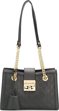 Gucci petit sac porté épaule classique - Noir df35b5443f2