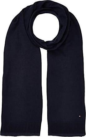 1e53148044c78 Tommy Hilfiger Soft Knit (New Odine), Echarpe Femme, Bleu (Tommy Navy