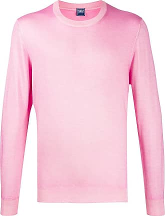 Fedeli lightweight crew neck jumper - Rosa