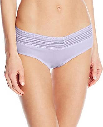 cae076010f65 Warner's Womens No Pinching No Problems Cotton Lace Hipster Panty, Sweet  Lavender, Large