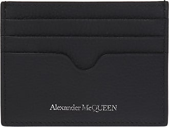 Alexander McQueen Logo Card Case Mens Black