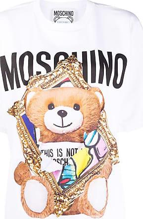 Moschino logo-print T-shirt - White