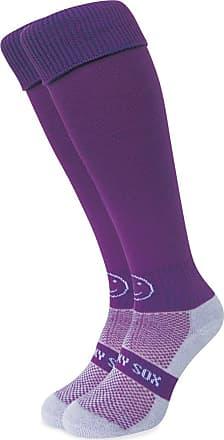 Wackysox Rugby Socks, Hockey Socks - Plain Purple
