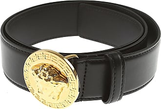 Versace Mens Belts On Sale, Black, Leather, 2017, 40 42 44 46