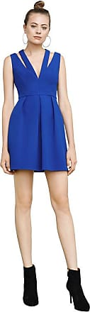BCBGeneration Clayre Double-Strap Pleated Dress